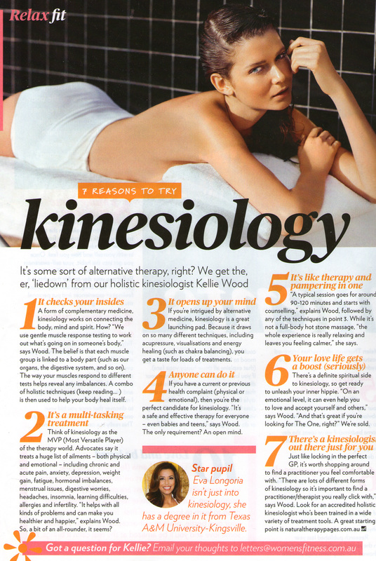 A great article from Women's Fitness Magazine...